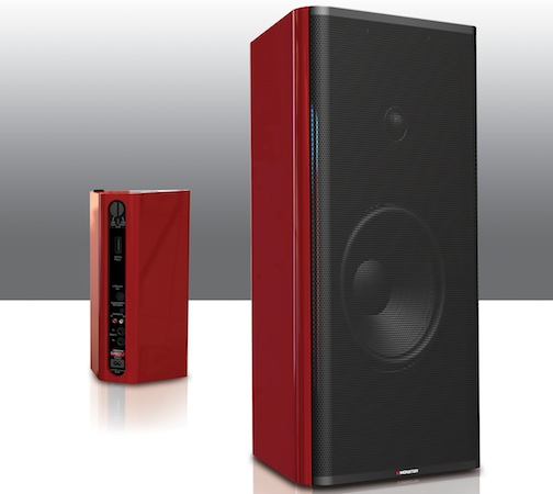 Monster ClarityHD Model One Powered Bookshelf Speakers
