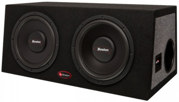 Boston Acoustics Gtuned Car Subwoofer Enclosure Systems