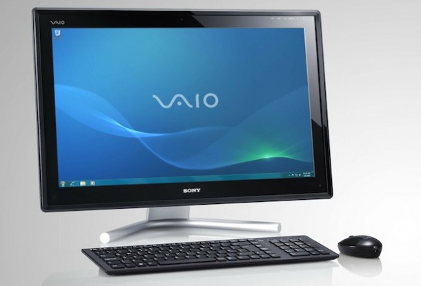 Sony Vaio Vpcl21s1e All In One Touchscreen Desktop Pc