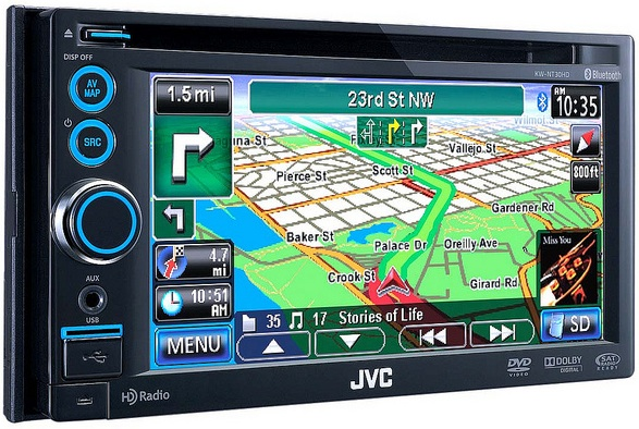 JVC KW-NT300 Car Navigation Drivers (2019)