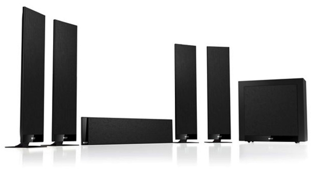 Kef T105 T205 T305 Flat Panel Speaker Systems