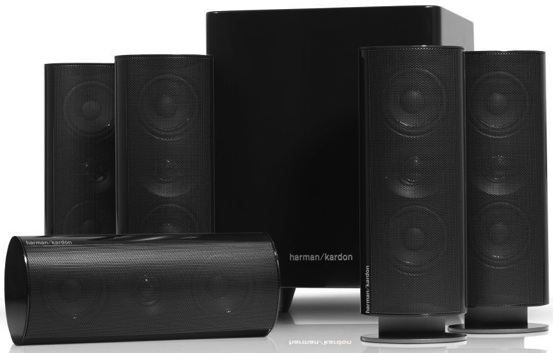 harman kardon home speakers. harman kardon hkts 30bq 5.1 home theater speaker s.. speakers