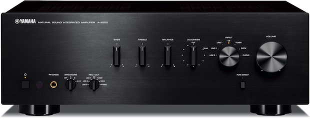 Yamaha a s500 integrated amplifier t s500 tuner for Yamaha integrated amplifier review