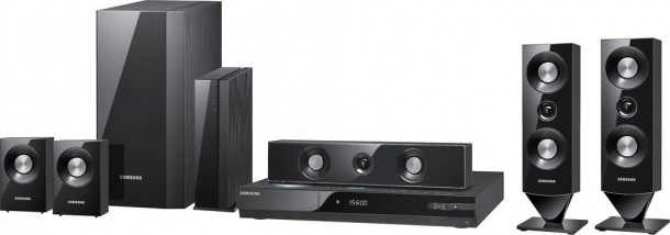 Samsung HT-C6900W 5.1 Blu-ray 3D Home Theater in a Box