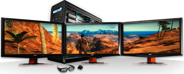 Digital Storm Black OPS Gaming PC with 3D Vision Surround