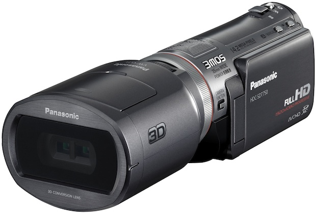 PANASONIC FIRST 3D CONSUMER CAMCORDER