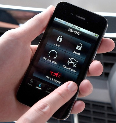 OnStar Mobile App Technology