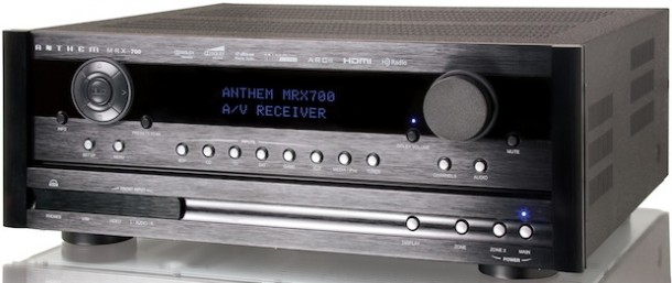 Anthem MRX 300, 500, 700, 900 AV Receivers