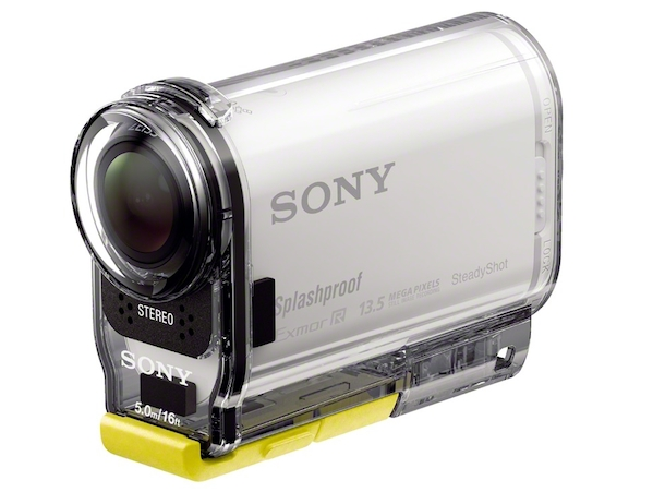 Sony HDR-AS100V POV Action Cam with case