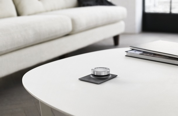 Bang & Olufsen BeoSound Essence Remote on table