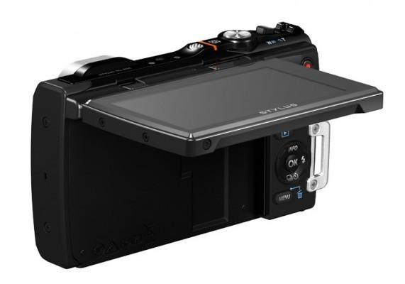 Olympus TOUGH STYLUS TG-850 Digital Camera Flip LCD