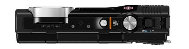 Olympus TOUGH STYLUS TG-850 Digital Camera Top