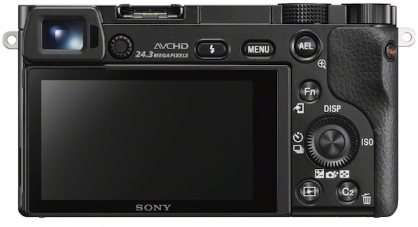 Sony ILCE-6000 Digital Camera Rear