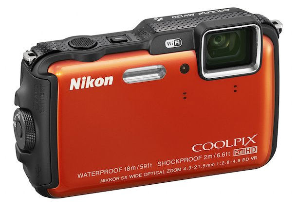 Nikon COOLPIX AW120 Rugged Digital Camera