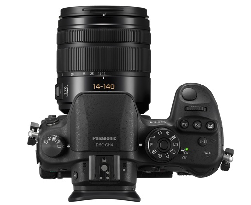 Panasonic DMC-GH4 Top