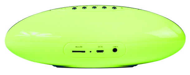 Sceptre SoundPal Green Back