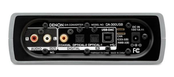 Denon DA-300USB DAC Back