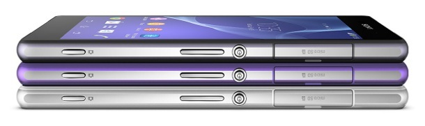 Sony Xperia Z2 Colors