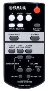 Yamaha YAS-103 Remote