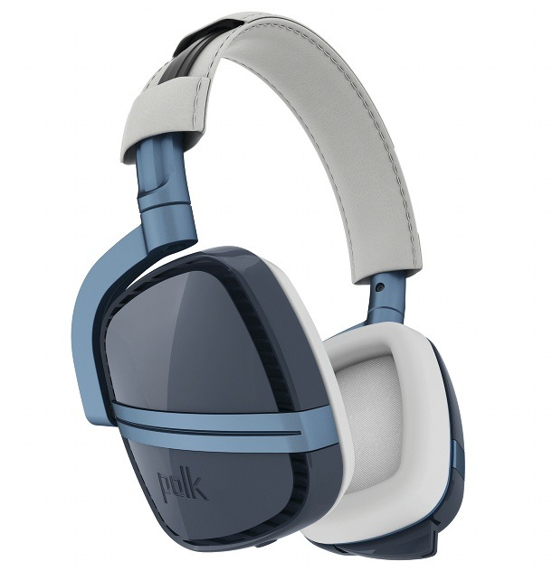 Polk Audio 4 Shot Gaming Headset Blue