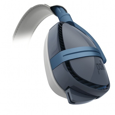 Polk Audio 4 Shot Gaming Headset Blue Side