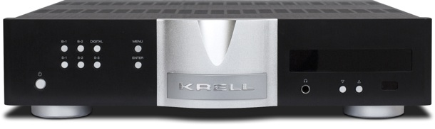 Krell Illusion II Stereo Preamp Front