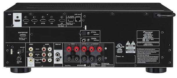 Pioneer VSX-824-K Back