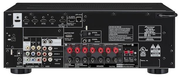 Pioneer VSX-1024-K Back