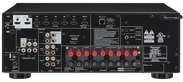 Pioneer VSX-1124-K Back