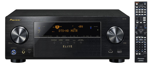 Pioneer VSX-80 with remote