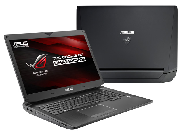 ASUS G750JZ Gaming Notebook