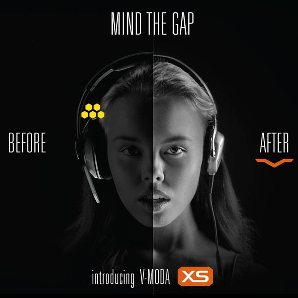 V-MODA XS MIND THE GAP