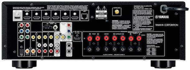 Yamaha RX-V577 A/V Receiver Back