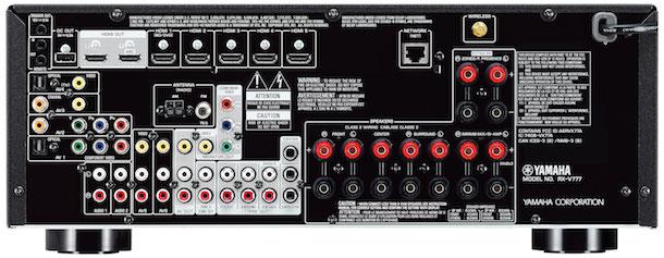 Yamaha RX-V777BT A/V Receiver Back