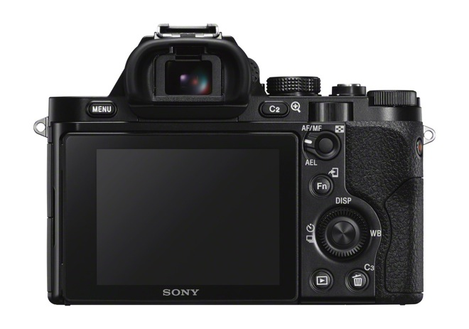 Sony ILCE-7S back