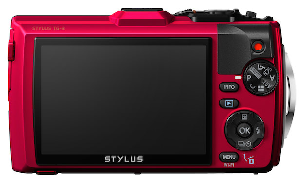 Olympus STYLUS TOUGH TG-3 back