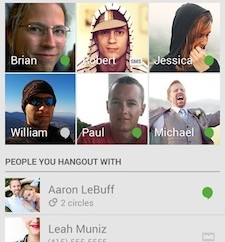 Hangouts for Android Version 2.1