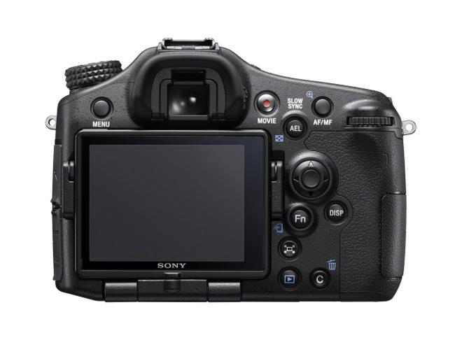 Sony ILCA-77 II Back