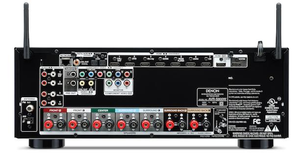 Denon AVR-S900W Back