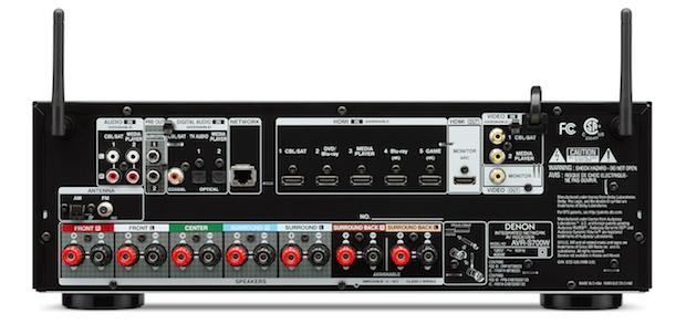 Denon AVR-S700W Back
