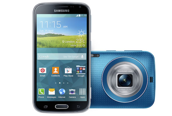 Samsung Galaxy K zoom Smartphone Blue