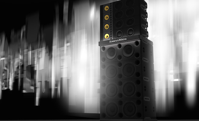 Bowers & Wilkins Festival PA Sound System