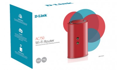 D-Link DIR-818LW Red Router
