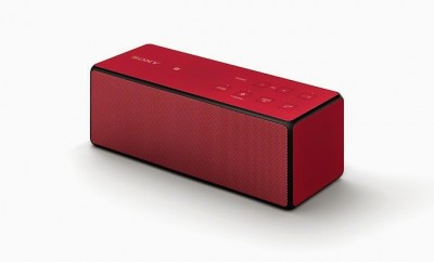 Sony SRS-X3 Portable Bluetooth Red