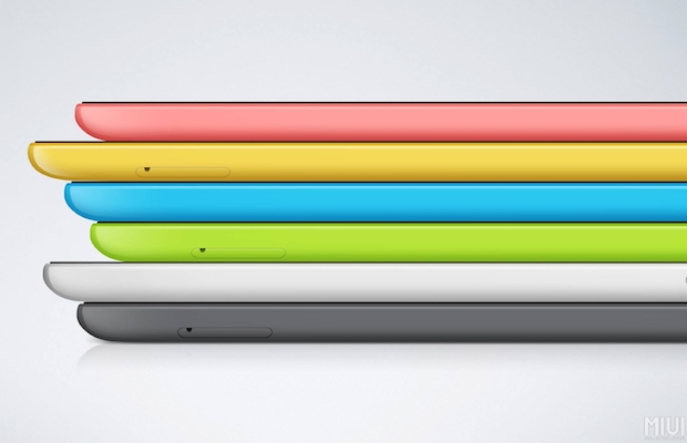 Mi Pad colors