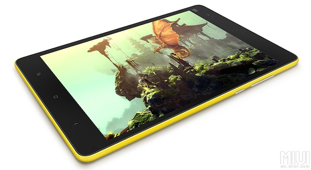Mi Pad yellow