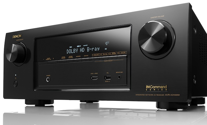 Denon AVR-X3100W IN-COMMAND A/V Receiver