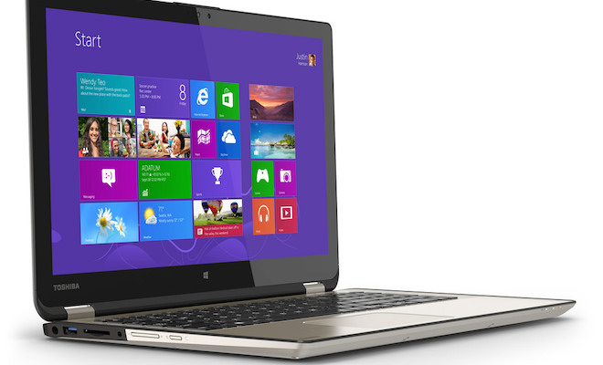Toshiba Satellite Radius Laptop