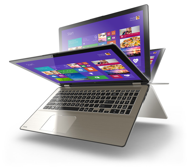 Toshiba Satellite Radius Multimode Laptop