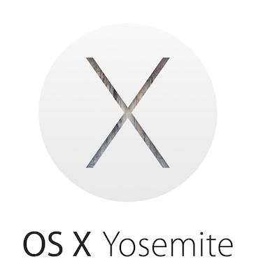 Apple OS X Yosemite logo